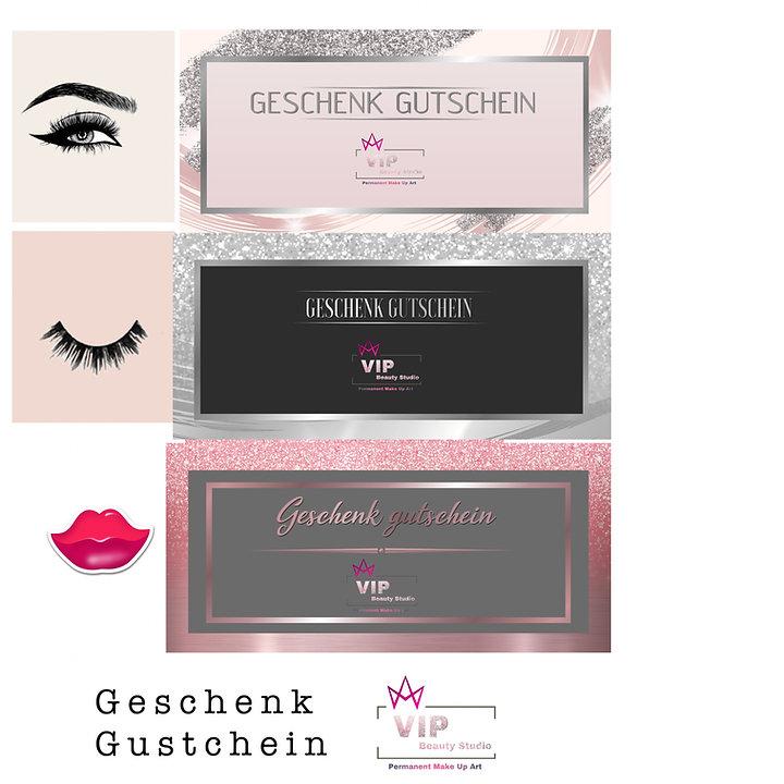 Geschenk Beauty Gutschein für B'eauty Anti Aging , Pmu , Wimpernverlängerung Behandlungen .