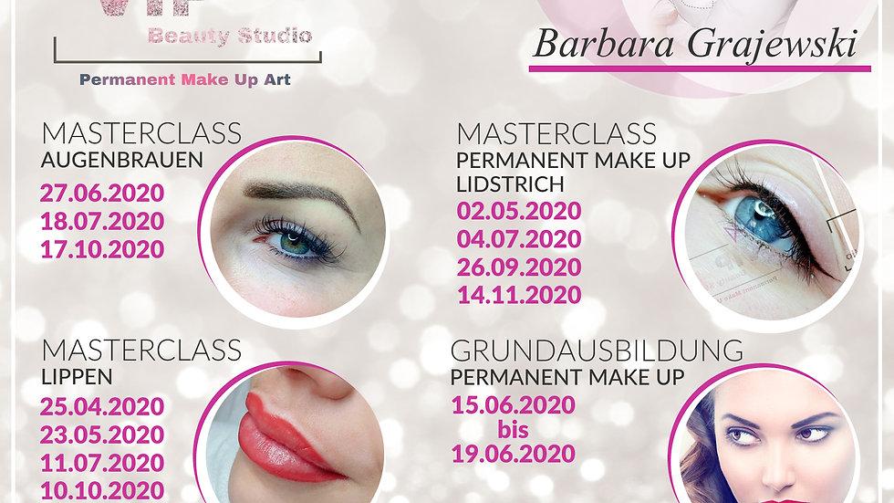 Permanent Make Up: umfassende Basisausbildung für  Anfänger Einzelschulung