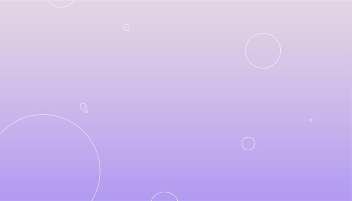 Fialové pozadí s bublinami