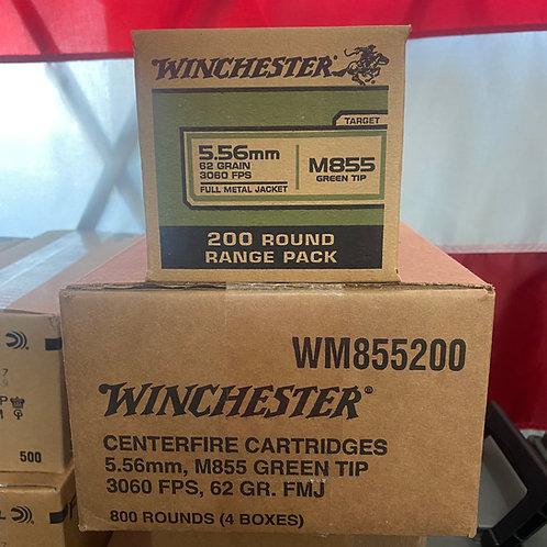WINCHESTER 62 GR 5.56 200rd BOX