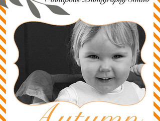 Autumn mini seasons $150 includes 15 fully edited photos and one 8x10 print. I love the autumn weath