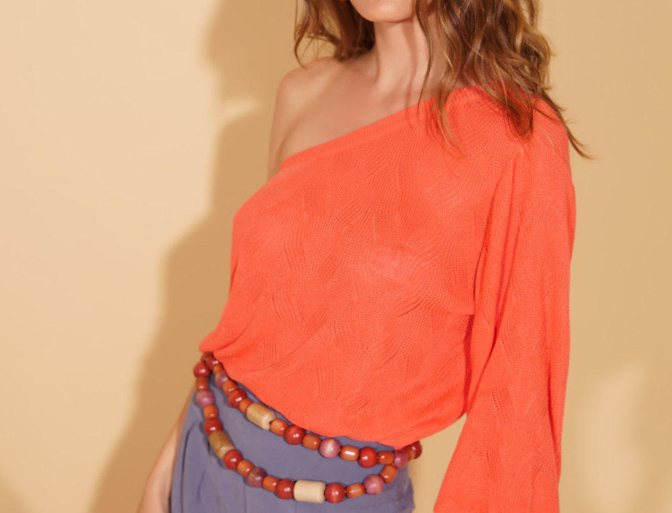 TRICOT NUANCE CORAL