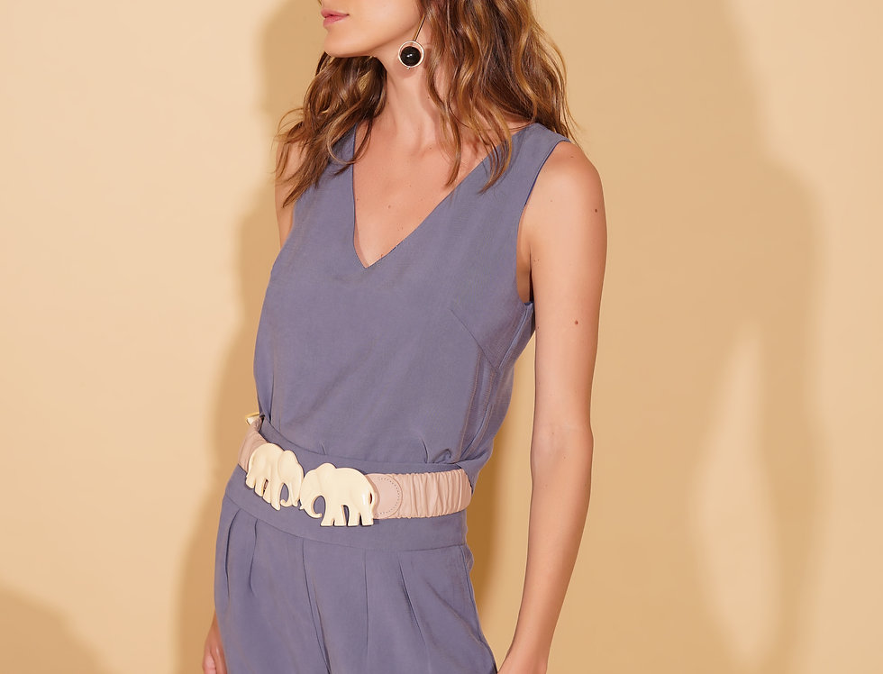 CROPPED NUANCE AZUL