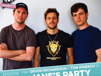 Podcast: E068 Devon Richardson & Tom Ionescu of Jane's Party