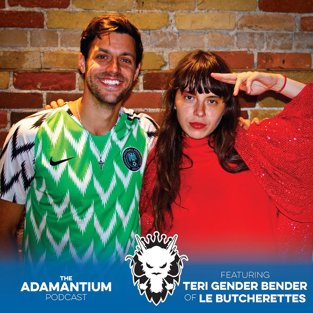 E021 Teri Gender Bender (Le Butcherettes)