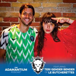 Podcast: E021 Teri Gender Bender of Le Butcherettes