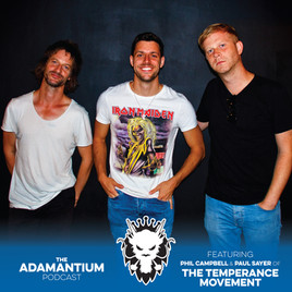 Podcast: E023 Phil Campbell & Paul Sayer of The Temperance Movement
