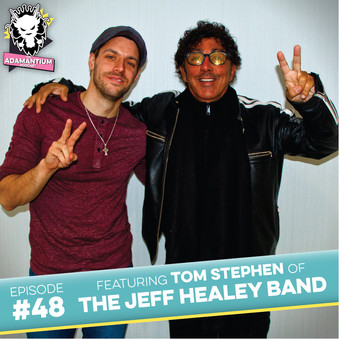 Podcast: E048 Tom Stephen of The Jeff Healey Band