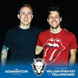 Podcast: E016 William Ryan Key of Yellowcard