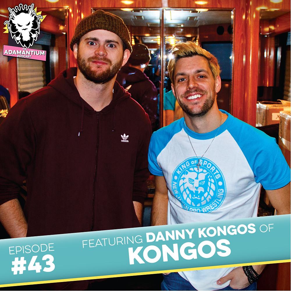 E043 Danny Kongos (Kongos)