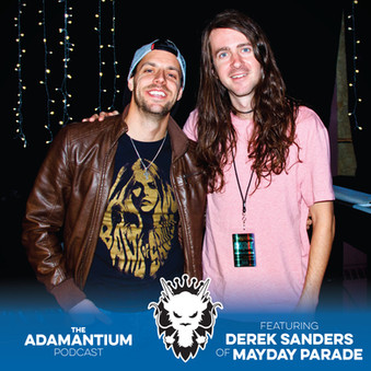 Podcast: E034 Derek Sanders of Mayday Parade