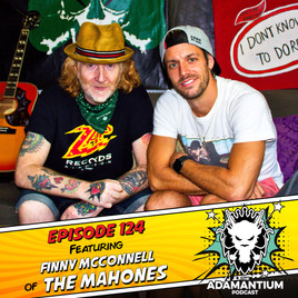 Podcast: E124 Finny McConnell of The Mahones