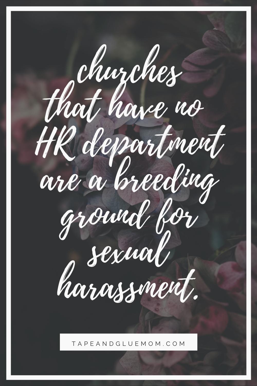 churches need HR