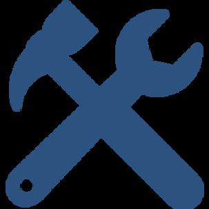 tools-cross-settings-symbol-for-interfac
