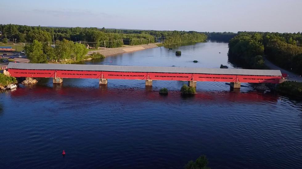 Marchand Bridge - Quebec, Canada