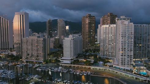 Ala Wai Boat Harbor - Honolulu, Hawaii