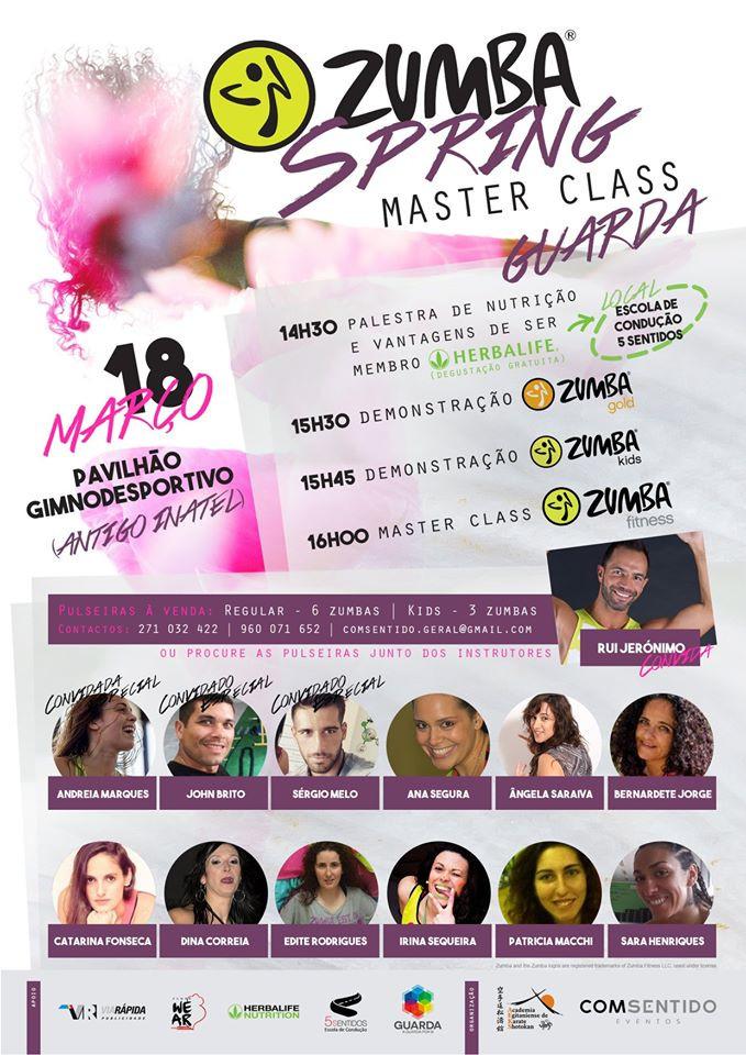 Zumba Spring Master Class Guarda