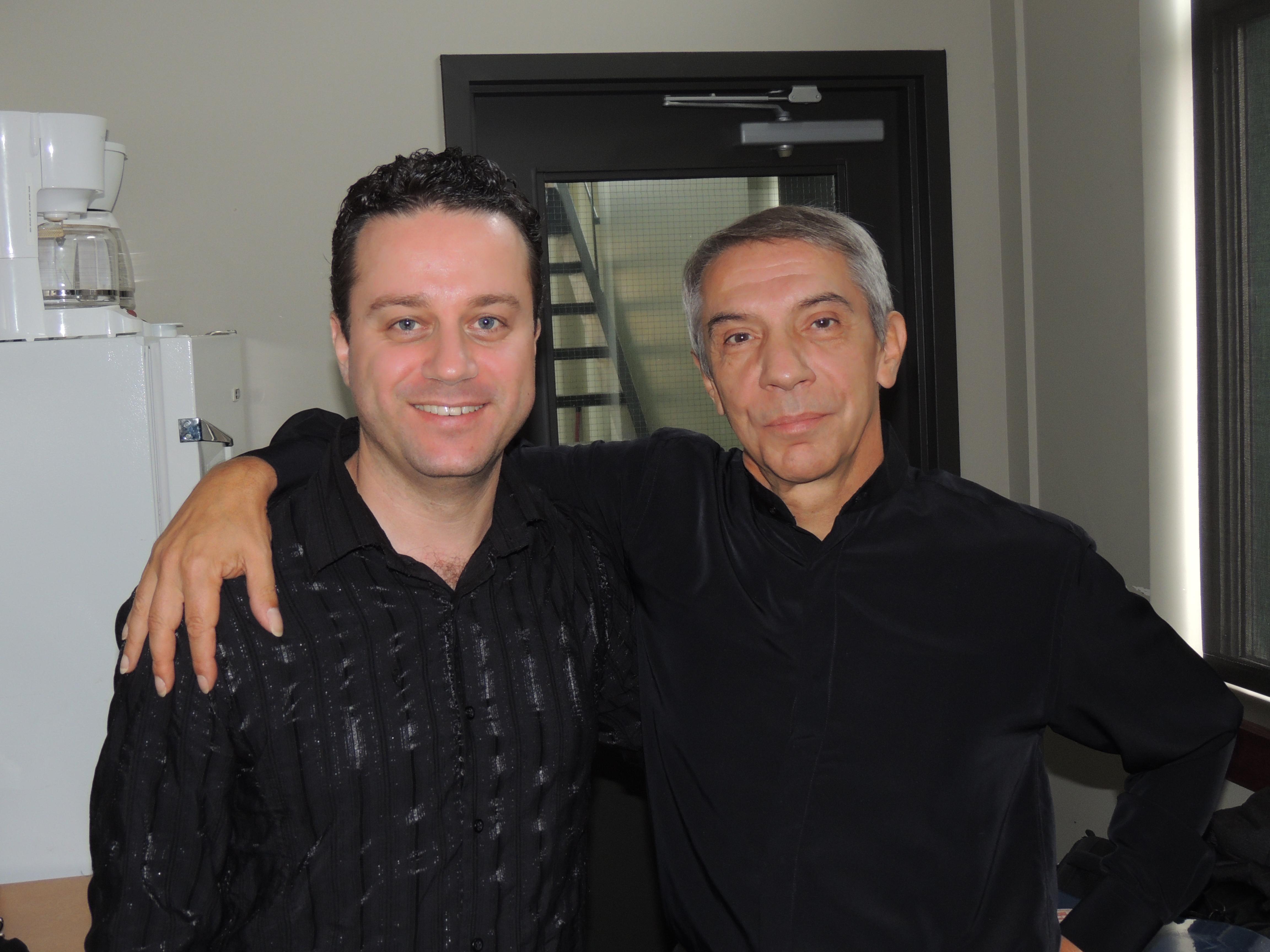 Avec Bernard Piris