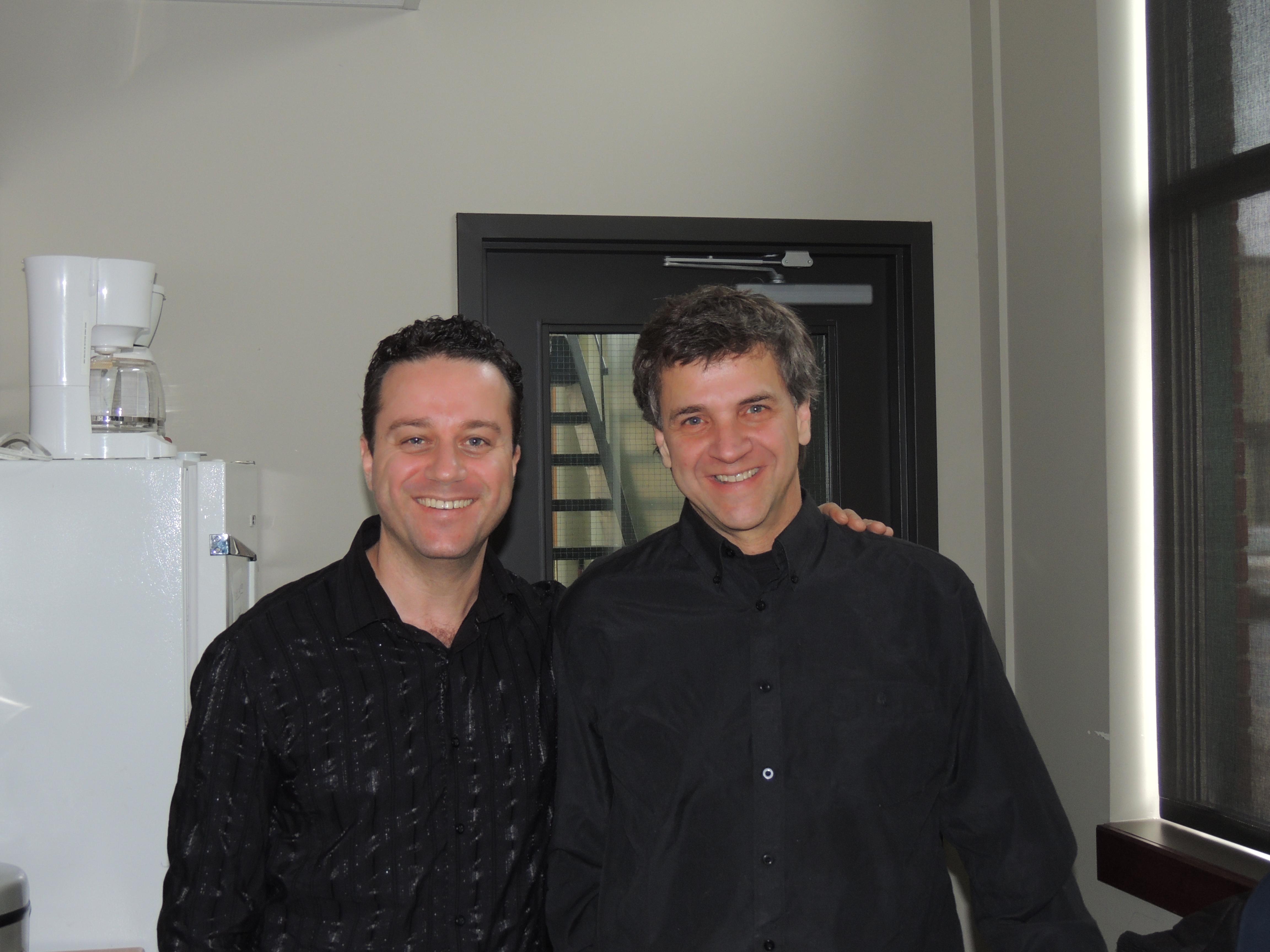 Avec François Leclerc