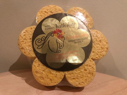 Mrs Conn's Pumpkin Spice shampoo sponge
