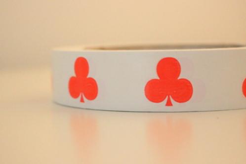White tape - orange clubs