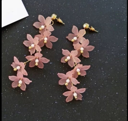 Ohrringe Blumen