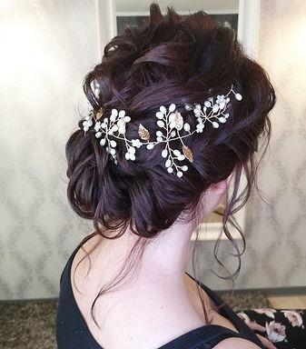 Haarschmuck Haarranke Vintage Hochzeit