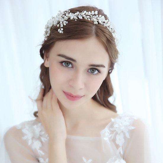 Diadem Haarranke Hochzeit Braut