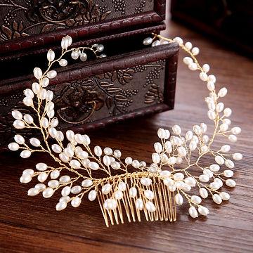 Haarschmuck gold Vintage