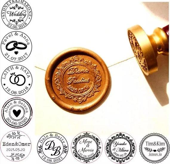 Personalisierter Siegel Stempel