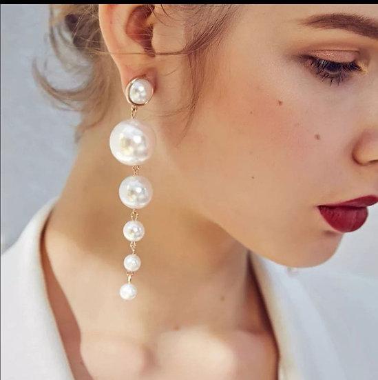 Perlen Ohrringe Hochzeit