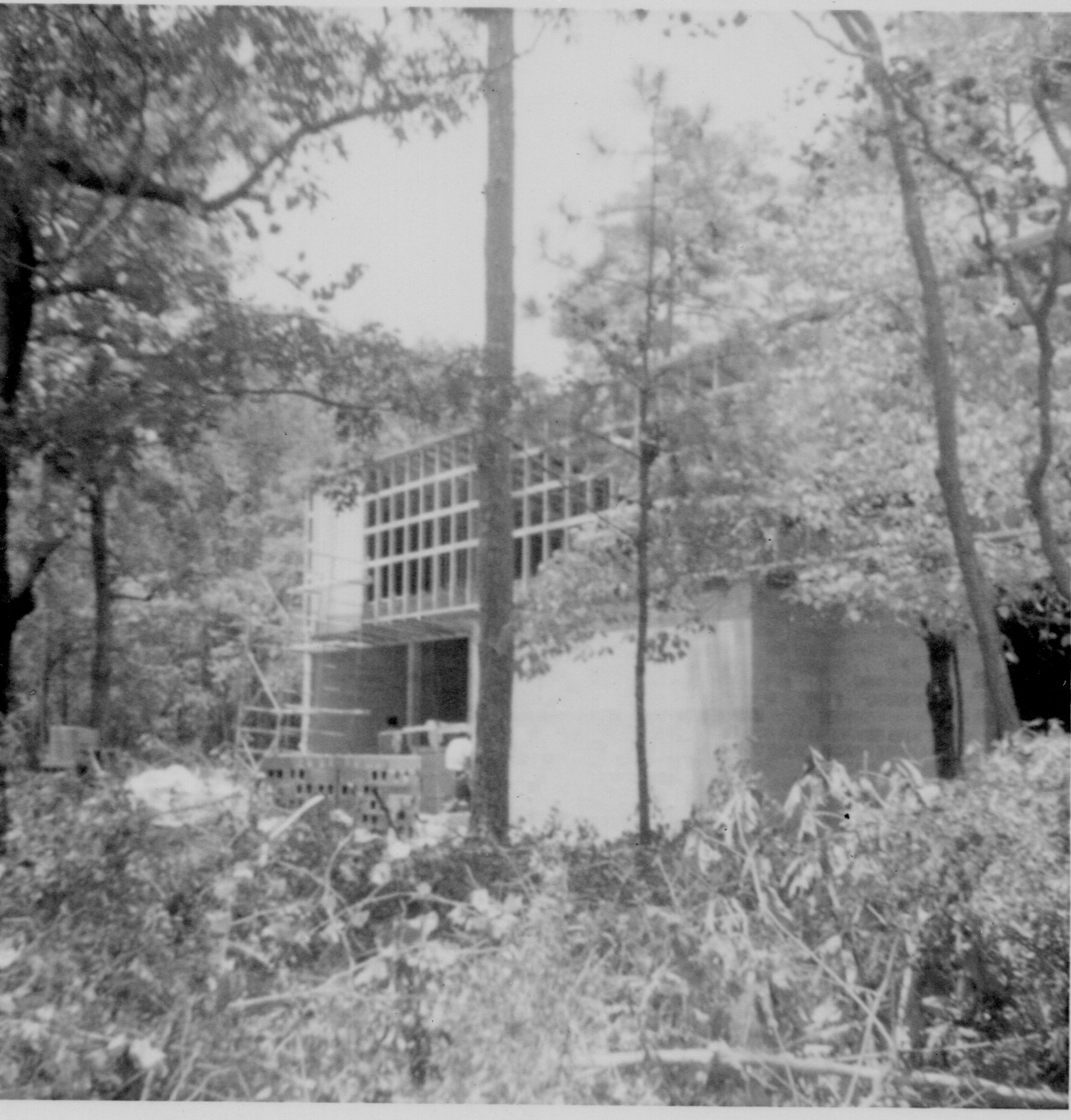 Spring 1969- Chapel Construction