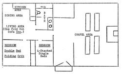 Schematic of Chapel Floorplan