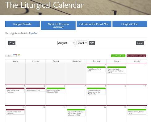Liturgical Calendar August.JPG