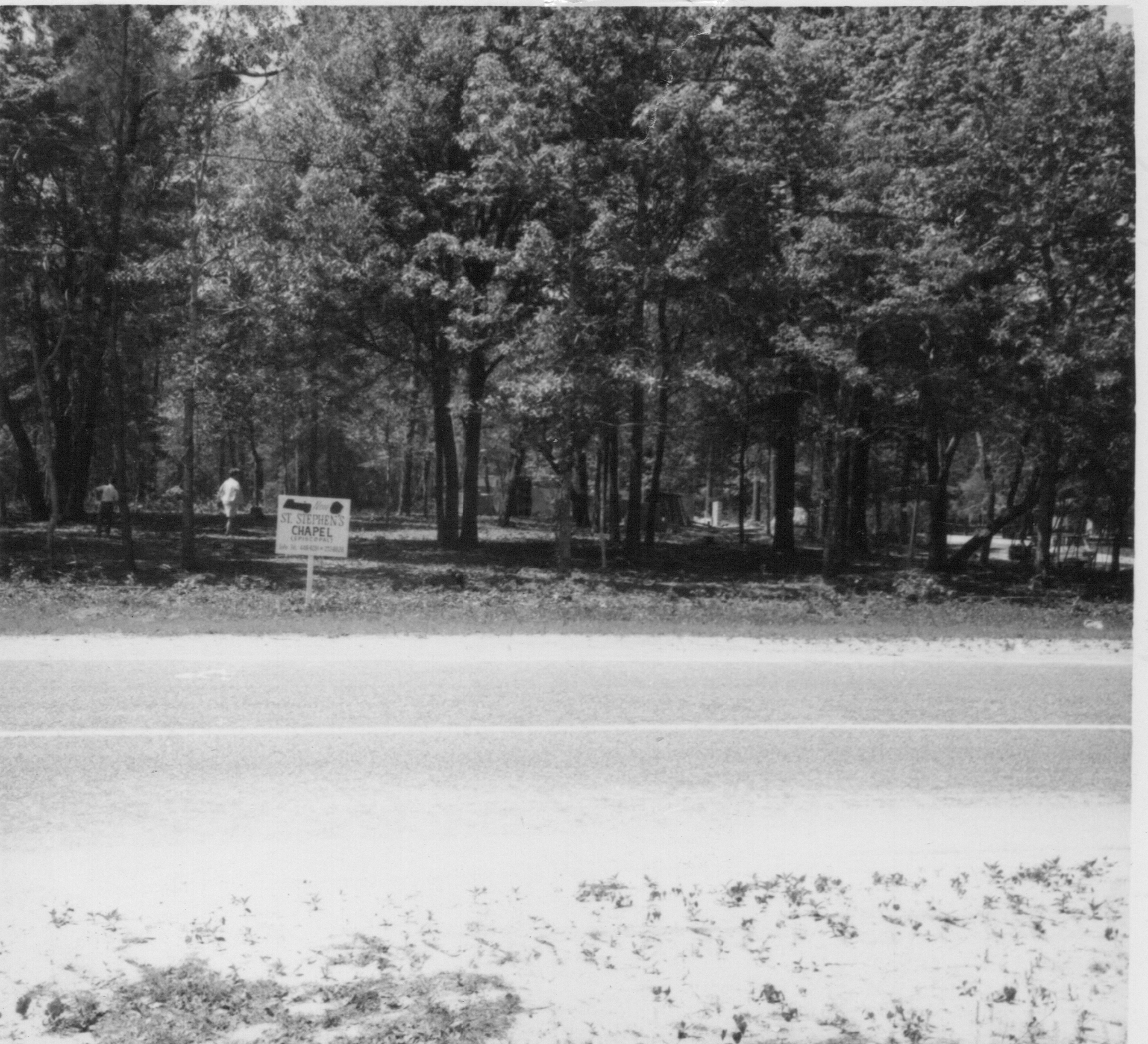 1969 - Site of Future Chapel