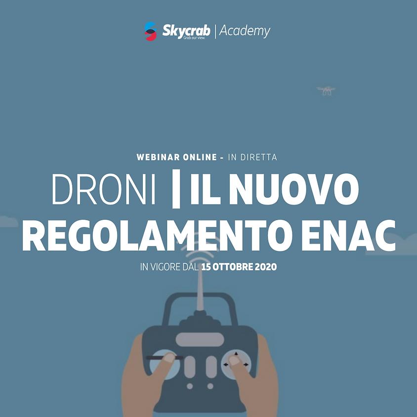 DRONI: IL NUOVO REGOLAMENTO ENAC (1)