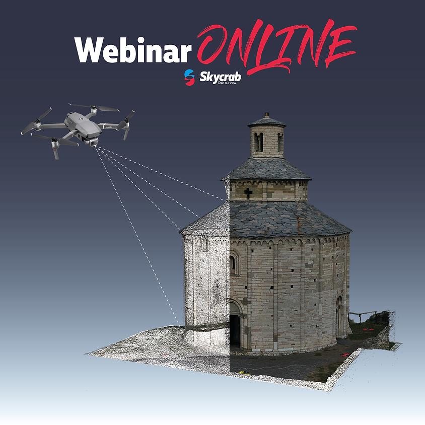 Rilievo 3D con drone. Le esportazioni utili al professionista.