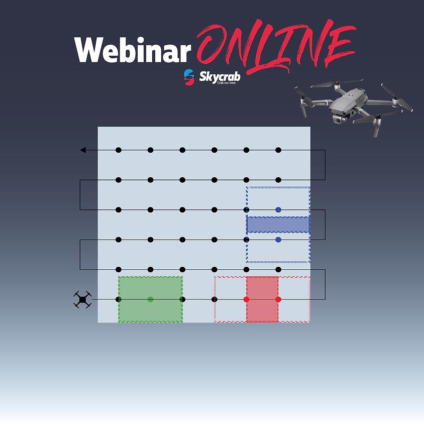 Rilievo 3D: pianificazione di volo automatico con drone.