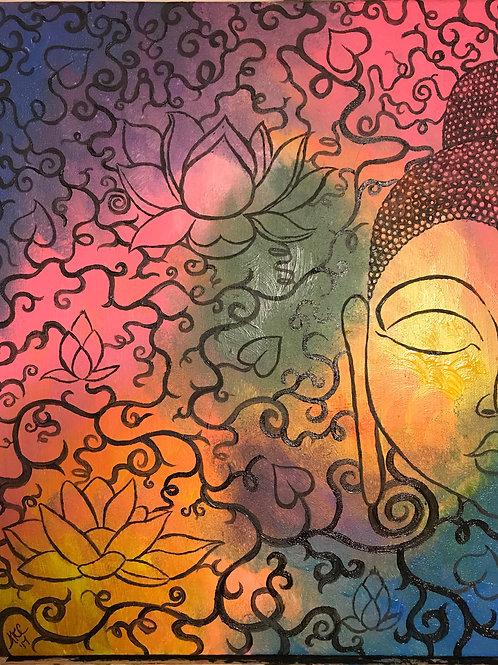 """The Lotus"" Print"