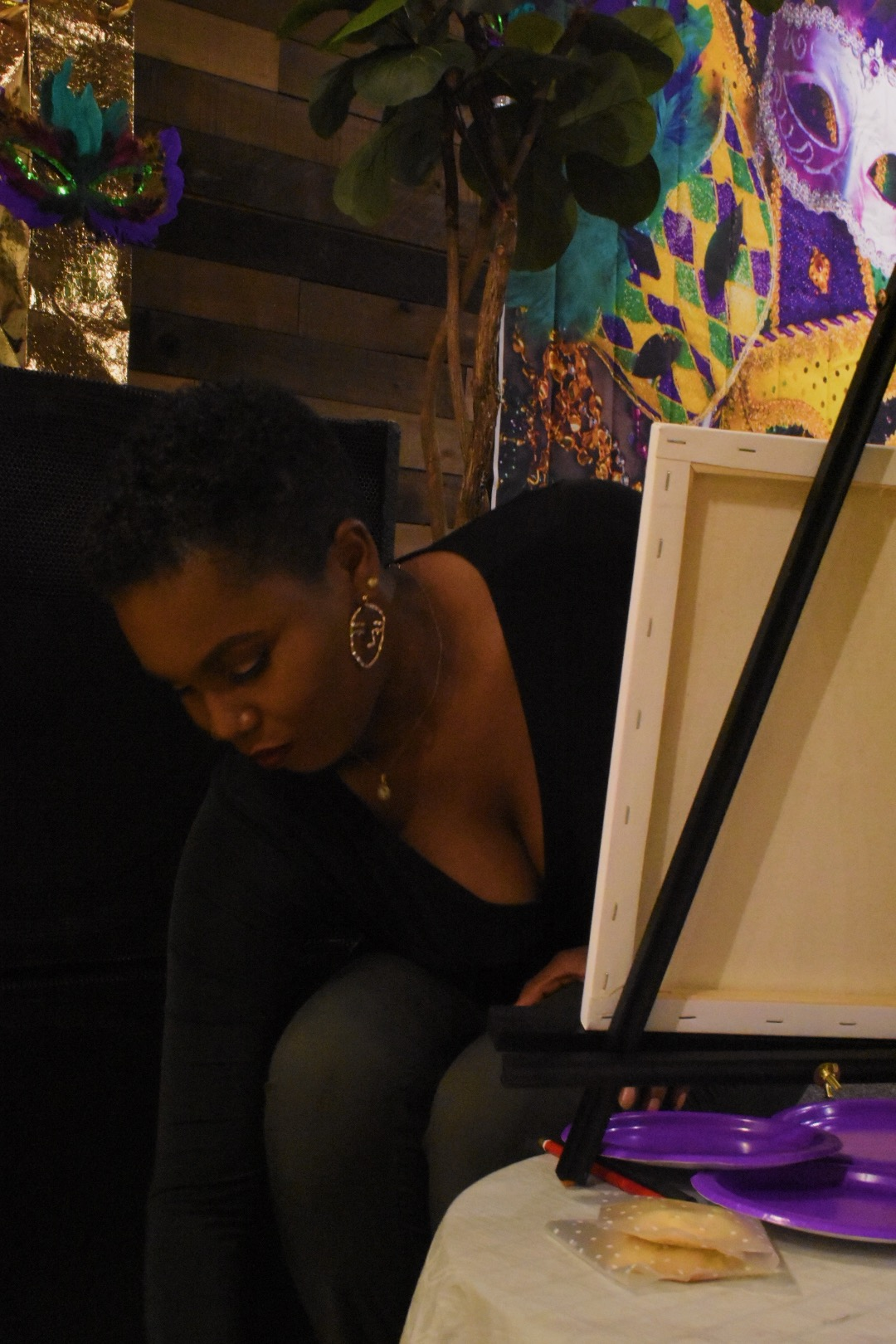Alexis painting