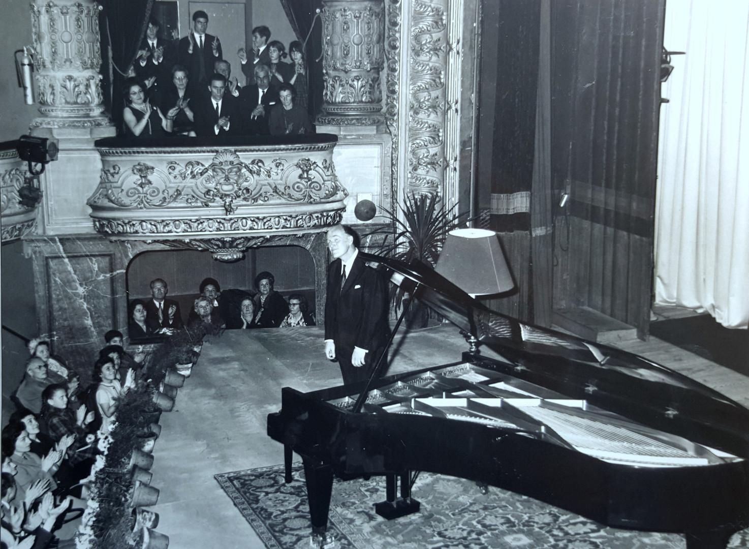Richter auThéâtre de Tours 1963