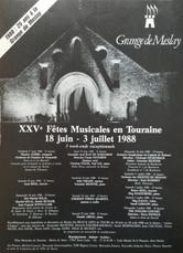 Programme de juillet 1988