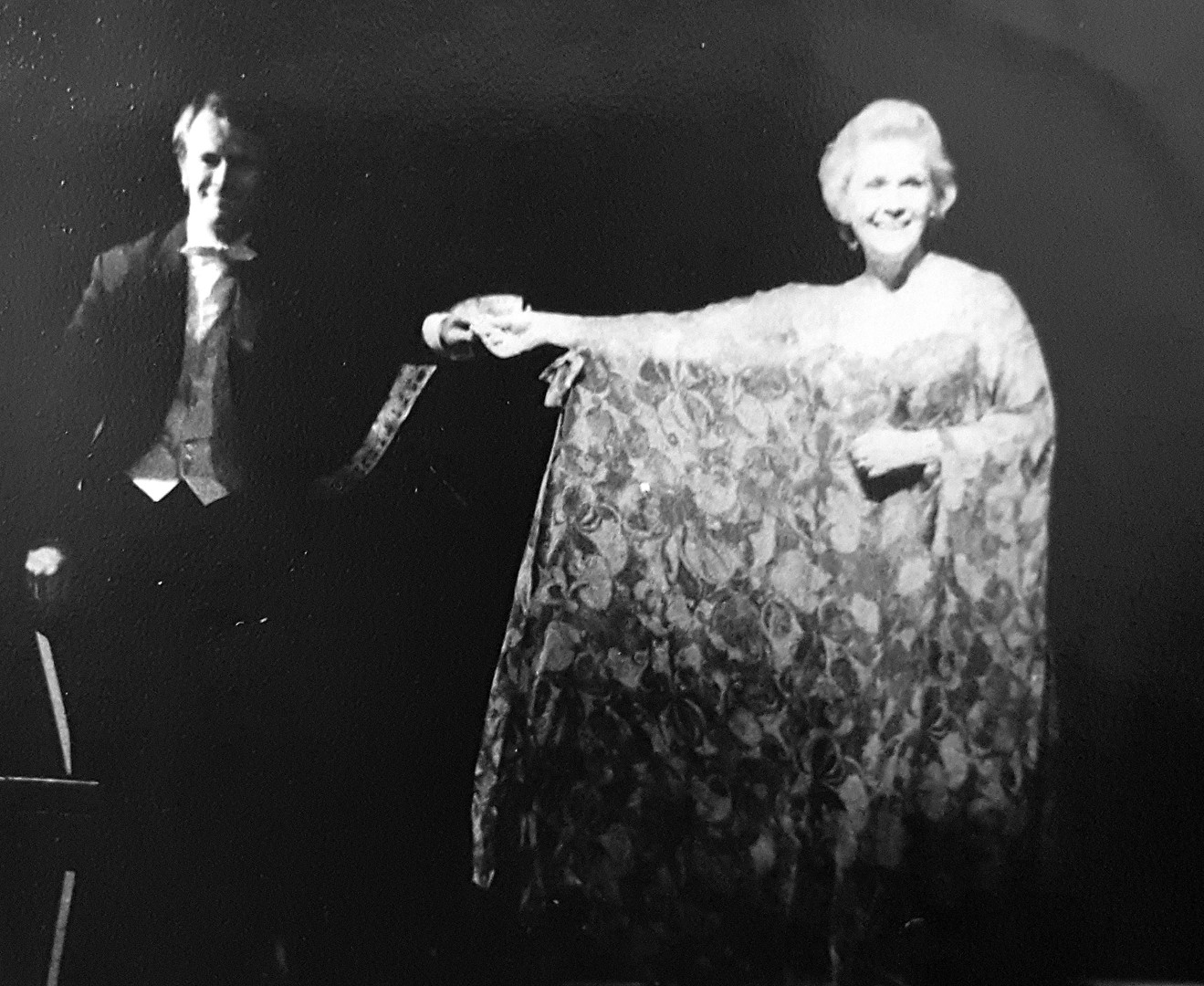 Elisabeth Schwartzkopf & Brian Lamport - 1970