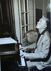 Richter en répétition à Tours- 1963