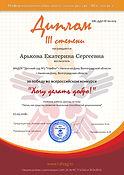 КВС-ДДО № 60-009-Арькова Екатерина Серге