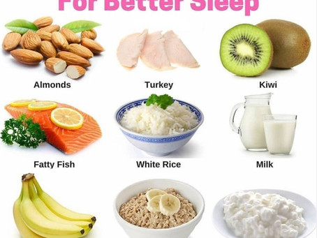 Relax Naturally - The 9 Best Foods to Eat Before Bed