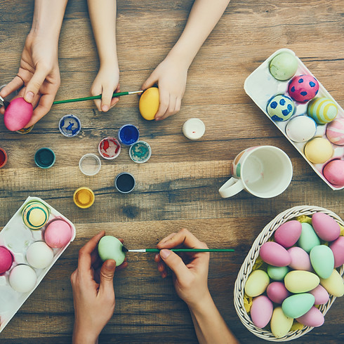 Easter Egg Dying Drop In - Friday