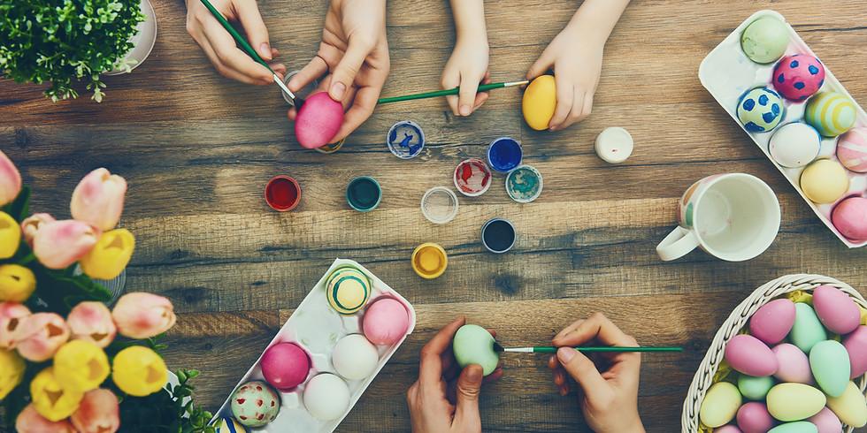 Egg Blowing Workshop