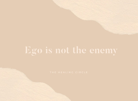Ego is Not The Enemy
