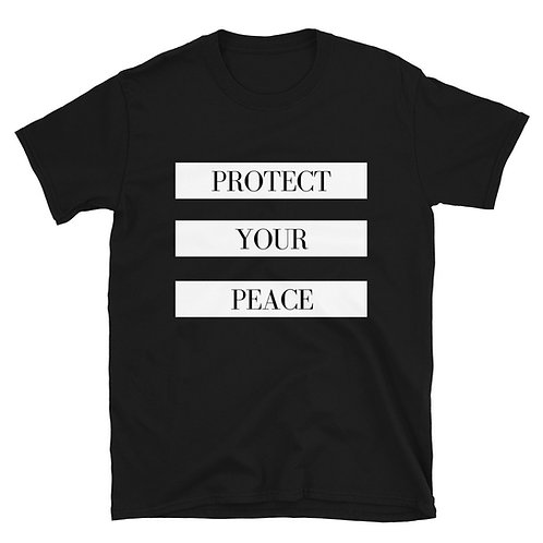 Protect Your Peace Short-Sleeve Unisex T-Shirt